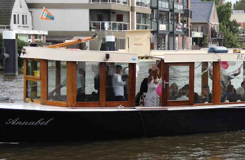 Annabel salon boot huren Nieuwkoop
