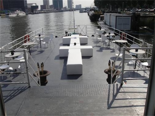 Boot partyboot huren rotterdam