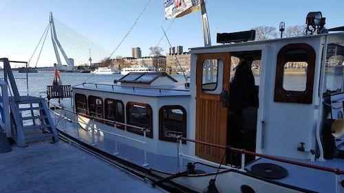 Salonboot huren Rotterdam